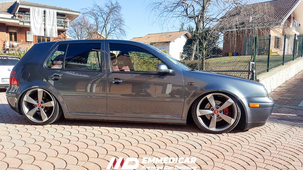 VW GOLF GTI 4 IV, risultato dopo car detailing,
