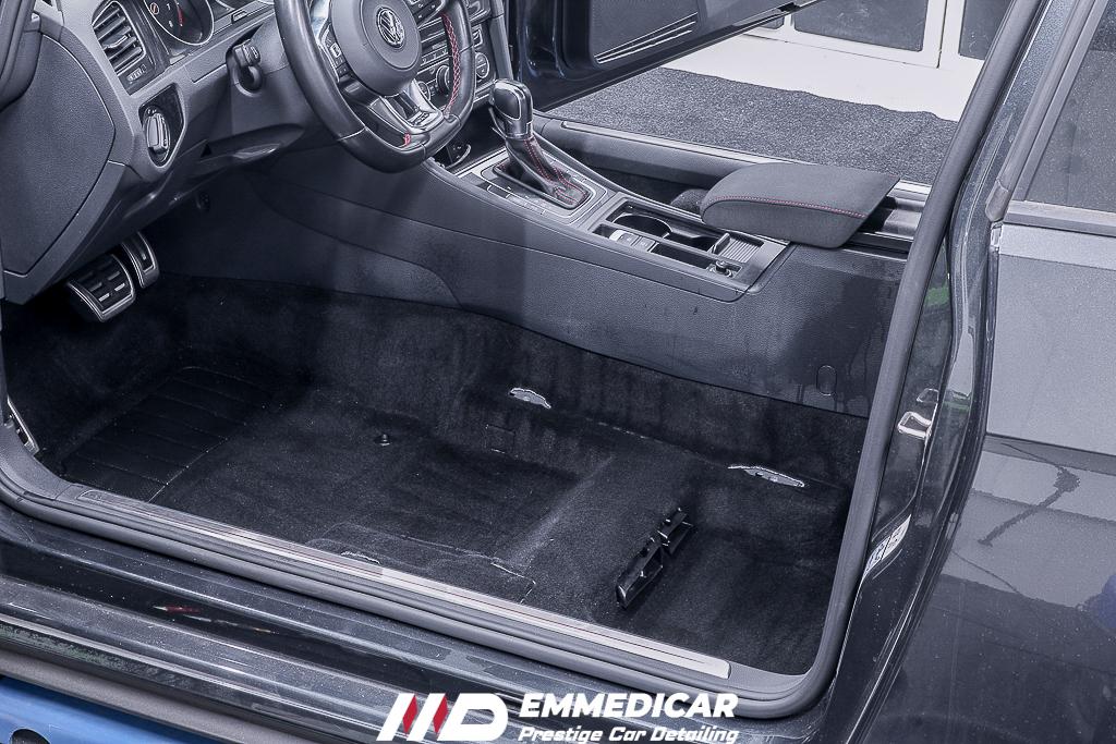 VW GOLF GTI, igienizzazione auto