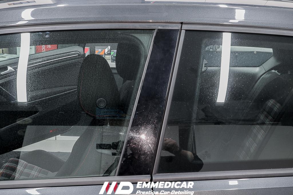 VW GOLF GTI, swirls