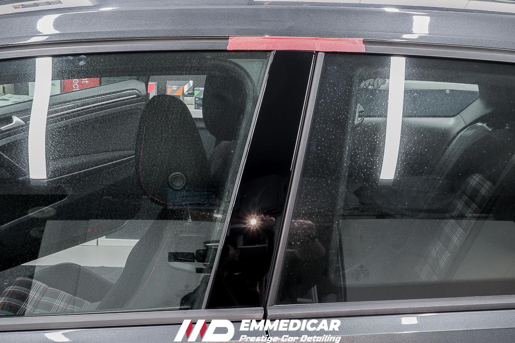 VW GOLF GTI, eliminazione graffi