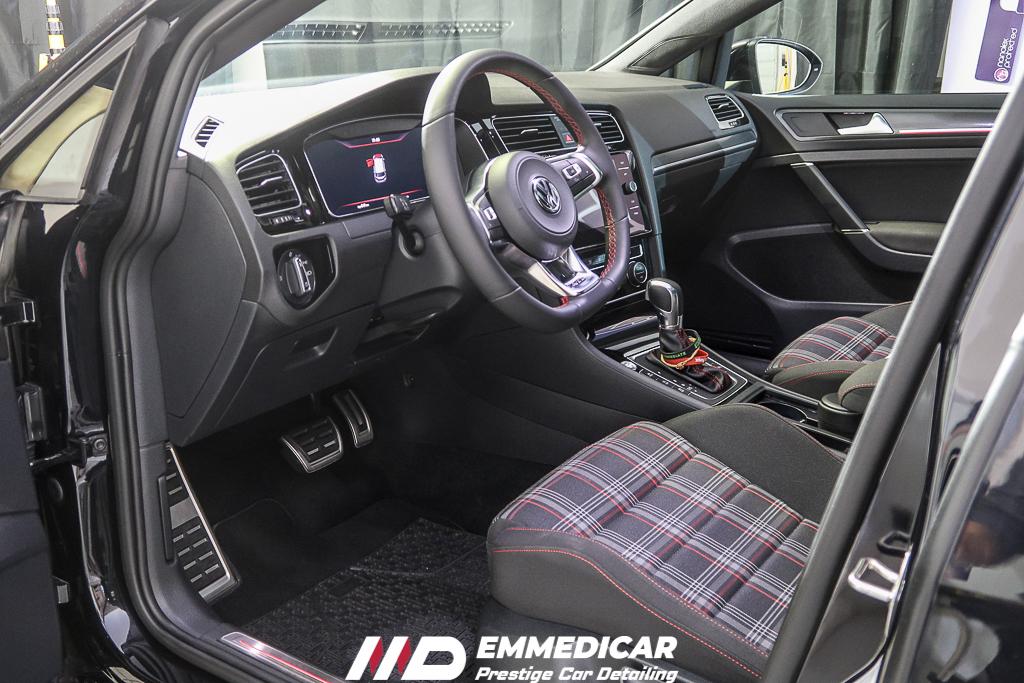 VW GOLF GTI PERFORMANCE, igienizzazione interni auto,