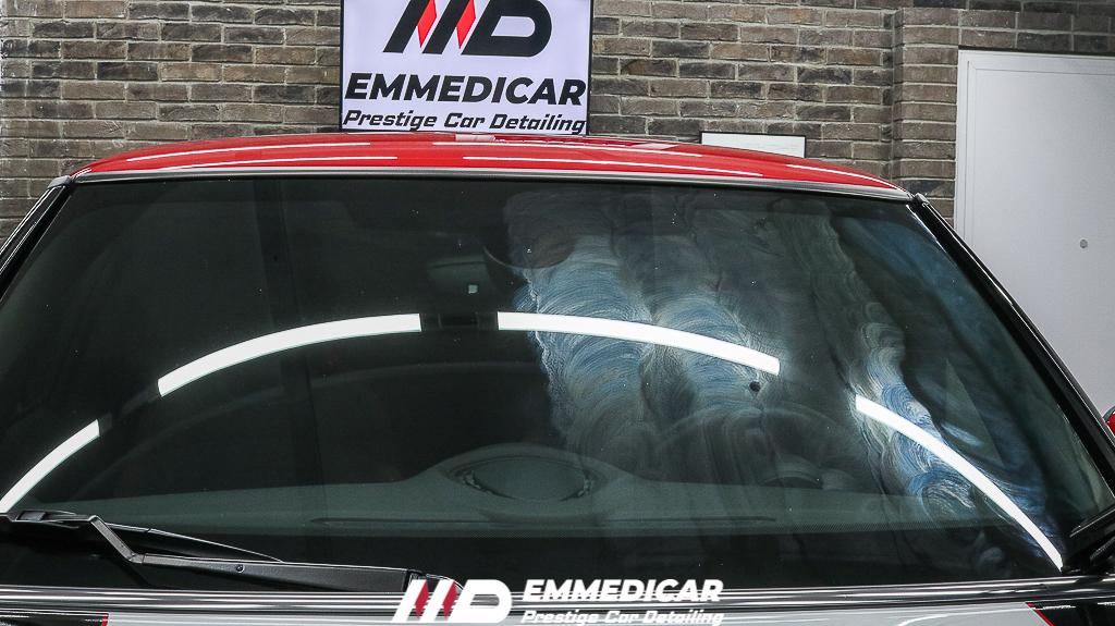 BMW MINI COOPER JCW, nanotecnologia vetri auto,