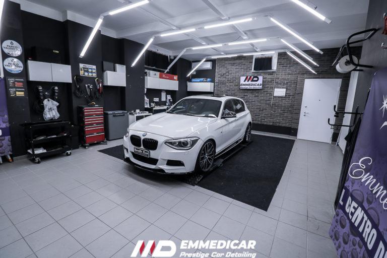 BMW Seire 1 125d, risultato trattamento car detailing