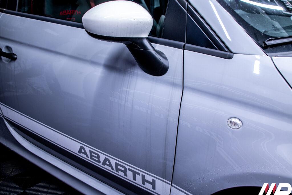 Abarth 595- situazione iniziale