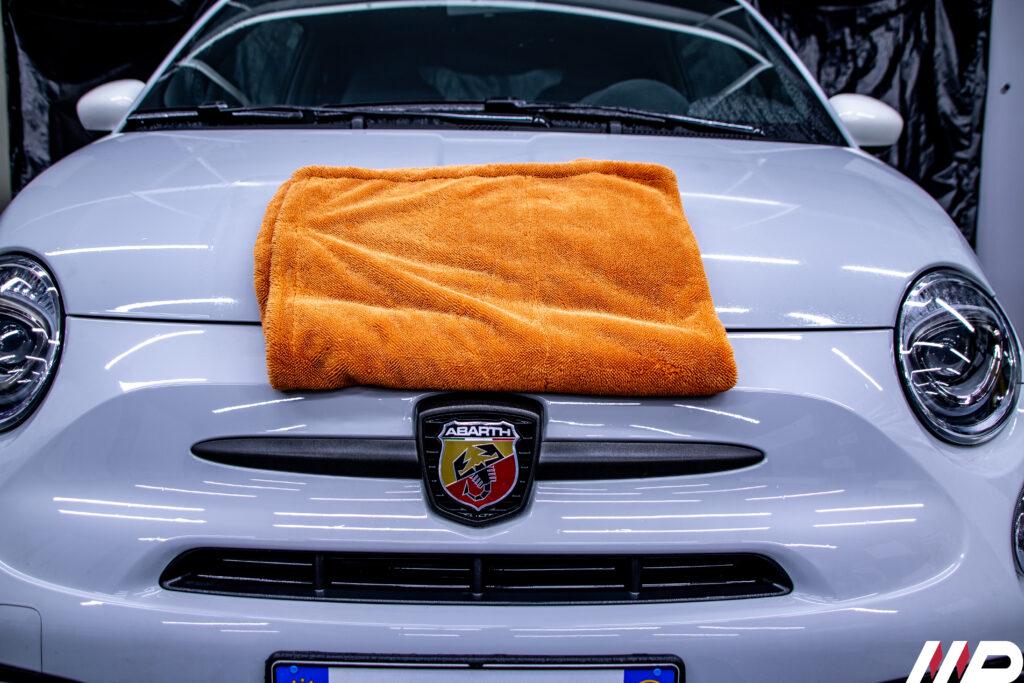 Abarth 595- asciugatura panno mago