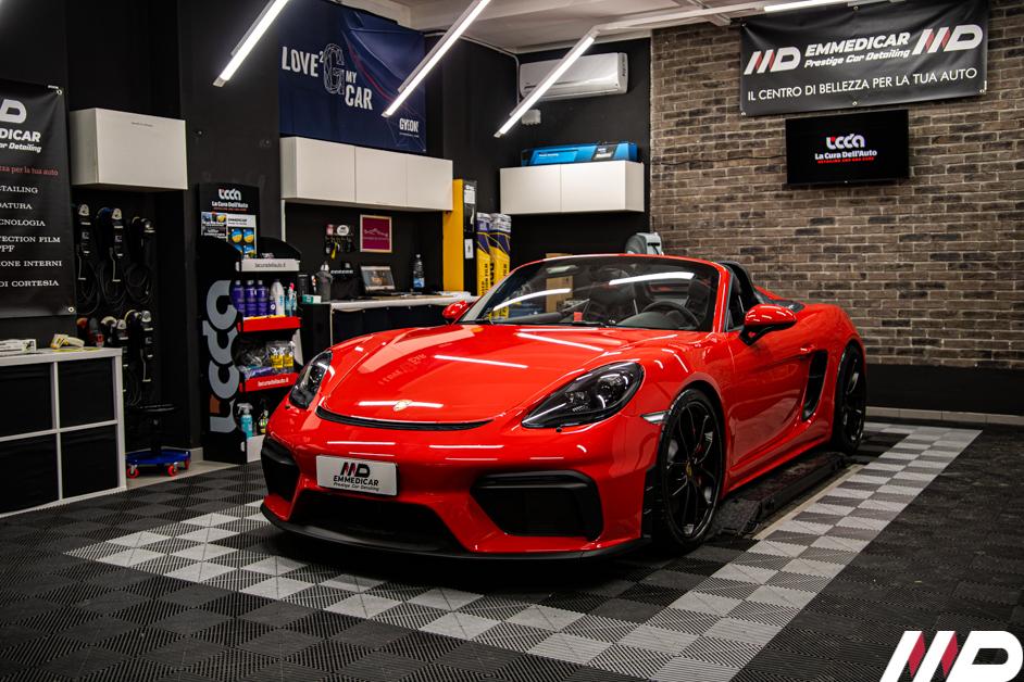 Car Detailing Porsche 718 Spyder-2