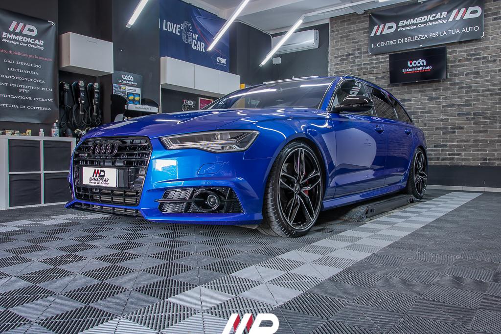car detailing su Audi A6 Competition
