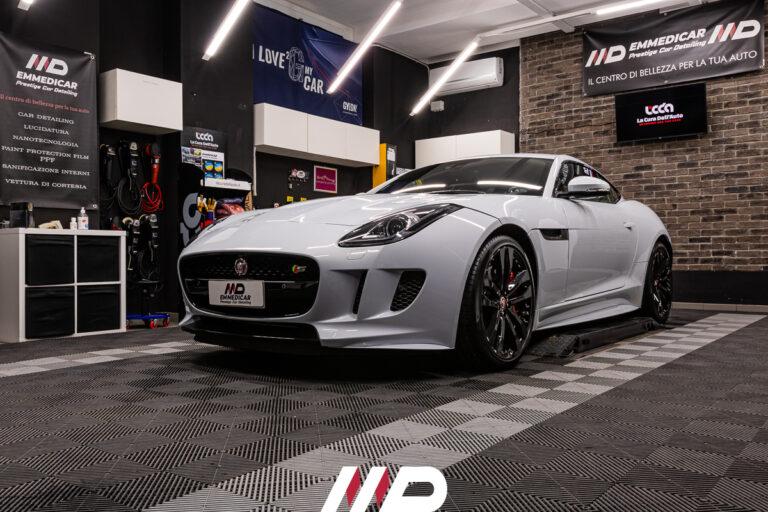 car detailing su Jaguar F-Type