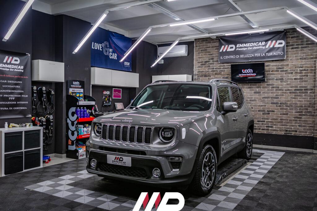 car detailing su Jeep Renegade