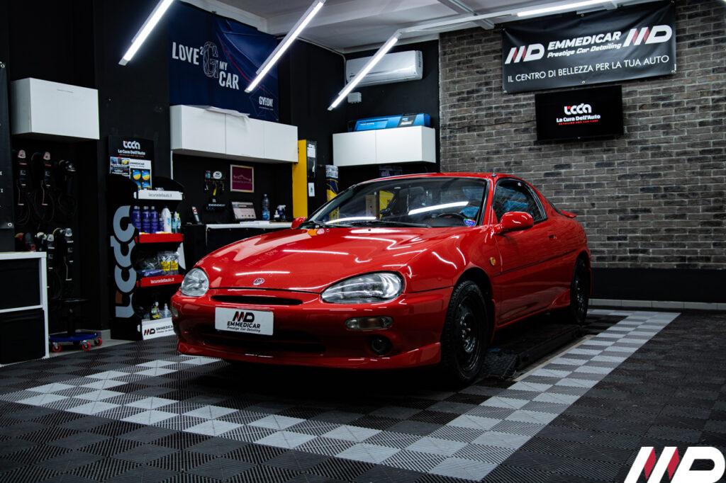 lucidatura professionale su Mazda MX3