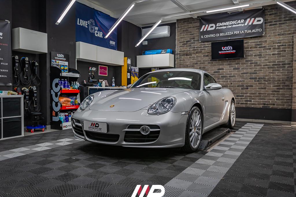 car detailing su Porsche 987 Cayman S