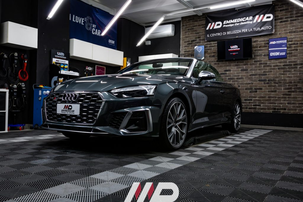 Audi S5 car detailing torino